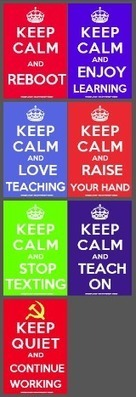 Keep Calm Teaching Posters Collection | Multilíngues | Scoop.it