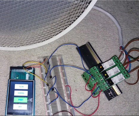 Controlling your high-voltage Fan with an Touchscreen and Arduino MEGA! | Raspberry Pi | Scoop.it