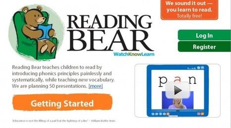 Cofundador de Wikipedia lanza Reading Bear, para enseñar a los niños a leer | Conocimiento libre y abierto- Humano Digital | Scoop.it