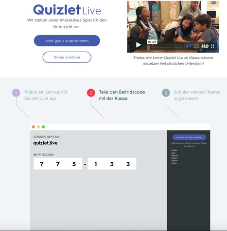 Quizlet Live Classroom and Learning Game | Quizlet | Teach and tech | Scoop.it