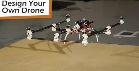 MIT crea programa para que cualquiera pueda diseñar su propio drone | Ingeniería Biomédica | Scoop.it