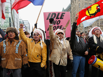 Indigenous Occupy: Canadian grassroots native movement on rise — RT | Mouvement. | Scoop.it
