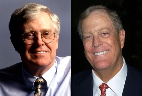 The Koch Brothers  Exposed | Julian Brookes | Politics News | Rolling Stone | Educating Voters and Promoting the Vote | Scoop.it