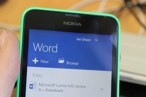 Video: What's new in Windows 10 Build 10080 for phones? | Social Media and Mobile Websites | Scoop.it