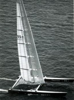 1988 - Stars & Stripes US-1 Catamaran - Whe...