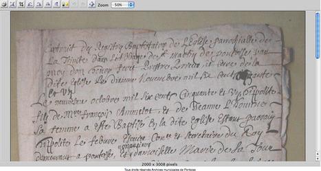 GénéInfos: La ville de Pontoise met ses archives en ligne   GenealoNet   Scoop.it