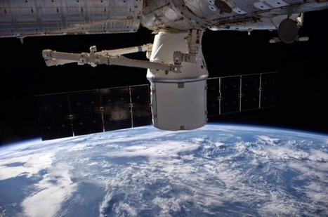 Il cargo Dragon CRS-4 è arrivato sulla ISS con un carico di rifornimenti | astronotizie | Scoop.it