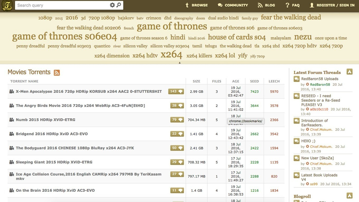 KickassTorrents resurfaces online, as all pirac