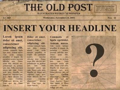 Editable Old Newspaper Template Newspaper77
