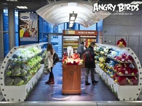 Angry Birds Land in Finland's Largest Airport – Merchandise Store Opens For Business | Finland | Scoop.it