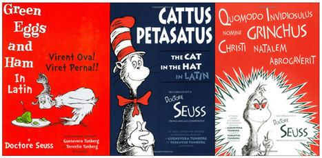 Translating Kid Lit to Latin: 'Virent Ova! Viret Perna!' | children's books | Scoop.it