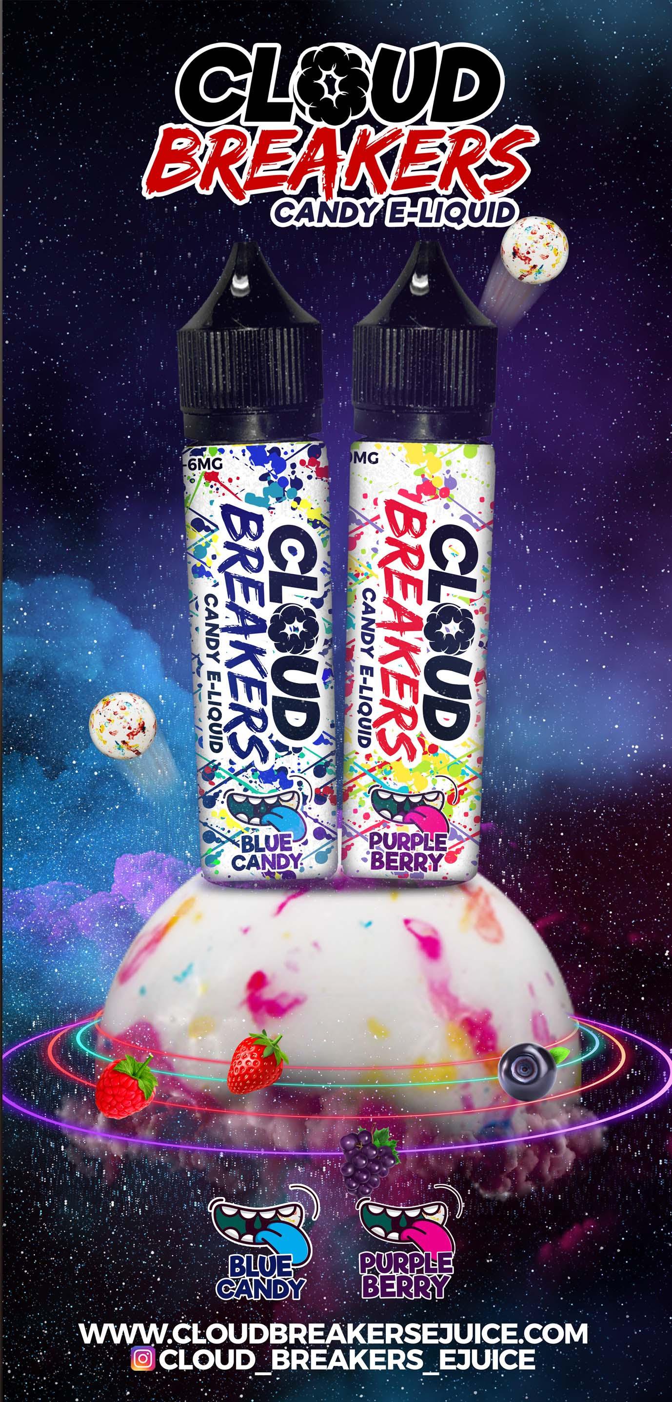 Cloud Breakers 60ml Vape Supplies Wh Crepe Eliquid Chocolate Hazelnut Usa Liquid