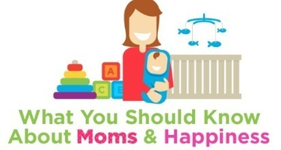Infographic: What You Should Know About Moms and Happiness | Happiness is THE Journey - Le bonheur, c'est LE voyage | Scoop.it