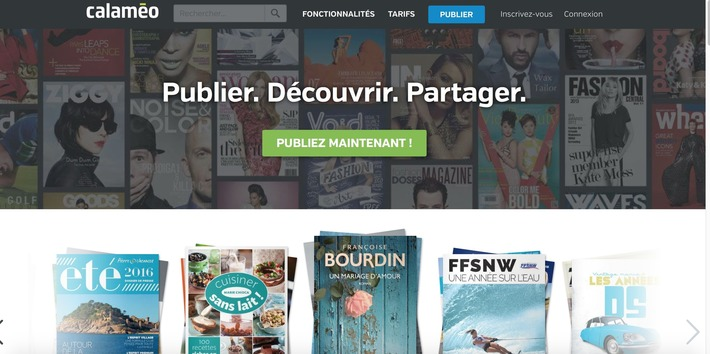 Calaméo, créer des magazines interactifs | TIC et TICE mais... en français | Scoop.it