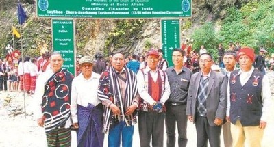 India-Myanmar Friendship Road Opens in Nagaland