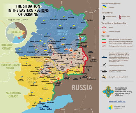 The situation in E. Regions of Ukraine | Unconventional Conflict | Scoop.it