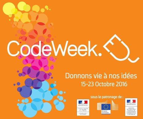 LE CODE : concept de programmation  (ressources, outils, jeux, concours….) @CodeWeek_FR #codeEU | Education & Numérique | Scoop.it