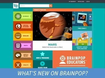 BrainPOP is Getting a New Look! | BrainPOP Educators | Information Powerhouses | Scoop.it