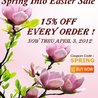 Mineral-DeadSea.Com Spring Into Easter Sale