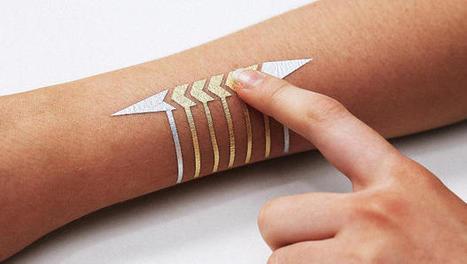MIT's Next Breakthrough Interface? Temporary Tattoos | Digital Health & Pharma | Scoop.it