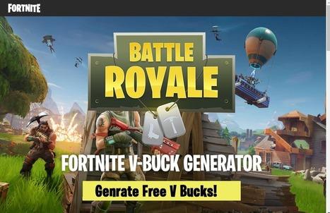 fortnite battle royale hack generator v bucks