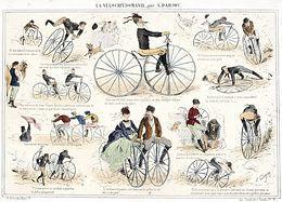 La « vélocipédomanie » sous le Second Empire - L'Histoire par l'image   GenealoNet   Scoop.it
