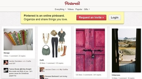 Facebook, Google benefit most from Pinterest shares | memeburn | Pinterest | Scoop.it