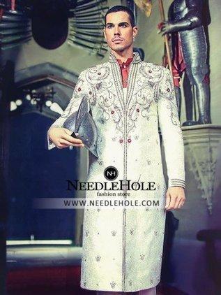 d5c07f3185 Hassan Shehryar Yasin HSY Studio Mens Sherwani Designs | Pakistani Bridal  Dresses, Indian Wedding Dresses