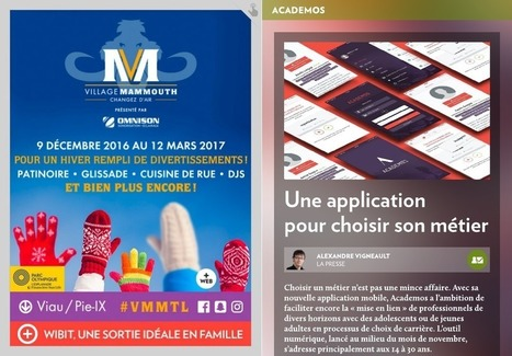 Une application pour choisir son métier | Actu@liTIC | Scoop.it