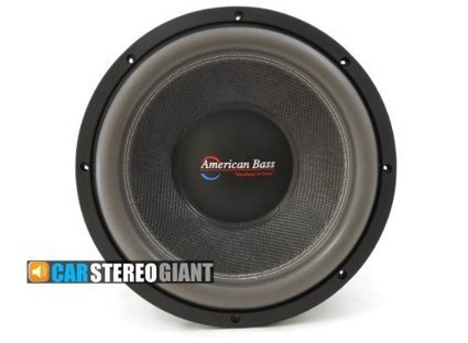 """NEW American Bass 15/"""" woofer 1000 watts max 4 Ohm SVC DX154"""