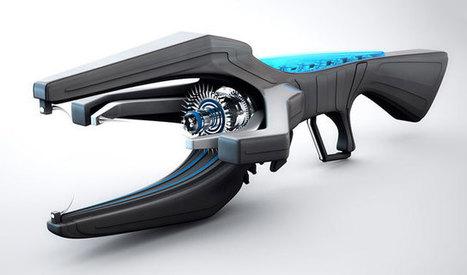 Free C4D 3D Model Pack: Weapons | The Pixel Lab | Machinimania | Scoop.it