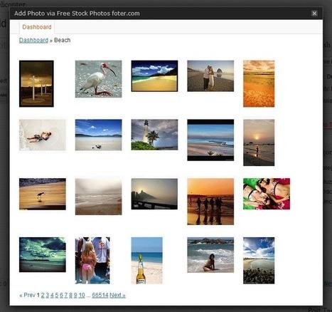 Free Stock Photos Foter ou comment inclure plus de 190 millions d'images gratuites dans WordPress | Time to Learn | Scoop.it