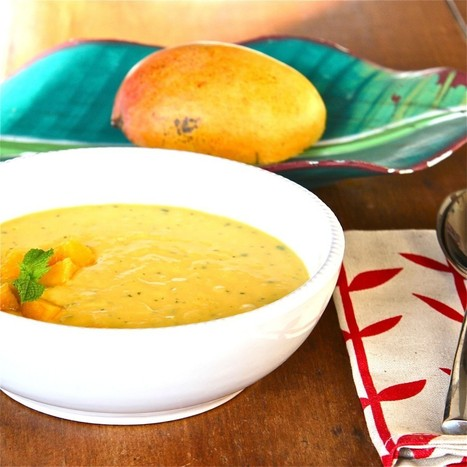 Bowl of Mango Sunshine | The Wimpy Vegetarian | Food for Foodies | Scoop.it