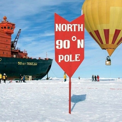 The incredibly weird reason the North Pole is headed to England. | Upsetment | Scoop.it