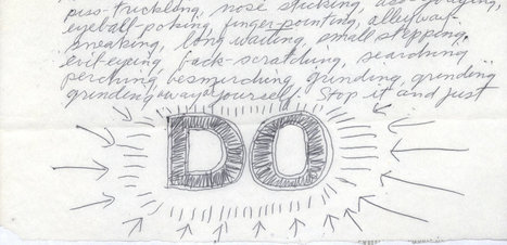 Sol Le Witt's advice to Eva Hesse | Emergent Digital Practices | Scoop.it