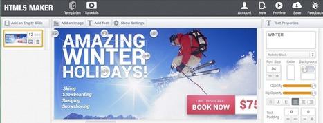 HTML5 Maker, crea espectaculares banners, slideshows y presentaciones | Recursos Web Gratis | Scoop.it