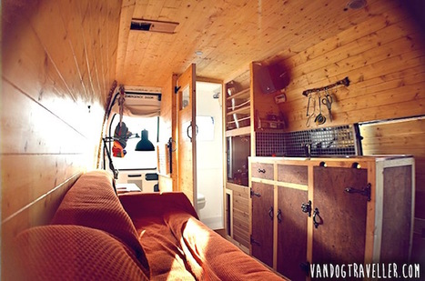 Man Quits Job to Convert Old Van into Mobile Home to Travel the World - StumbleUpon | Motorhome Madness | Scoop.it