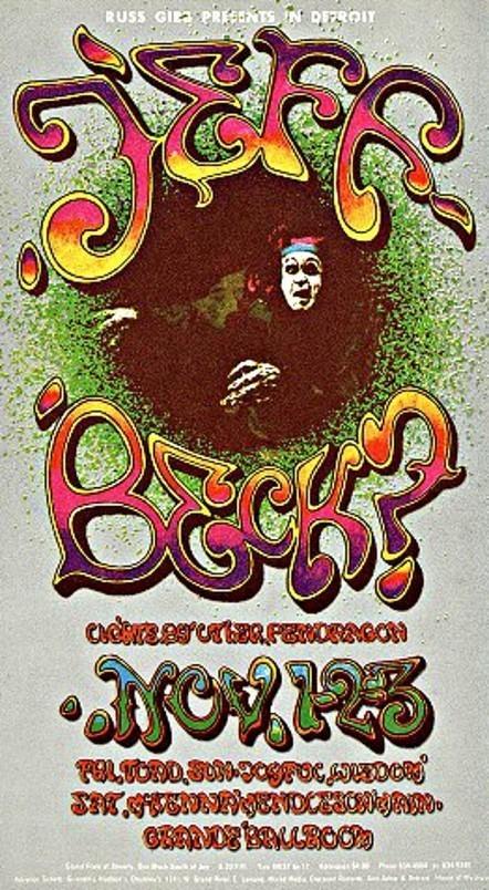 Psychedelic Postcards, Grande Ballroom, Detroit 1967/68 | Detroit | Scoop.it
