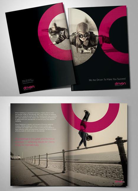 brochure design in amazing graphic design inspiration scoop it