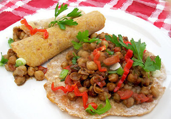 Jerk Chickpeas | Lisa's Kitchen | Vegetarian Recipes | Cooking Hints | Food & Nutrition Articles | Vegetarian Recipes | Scoop.it