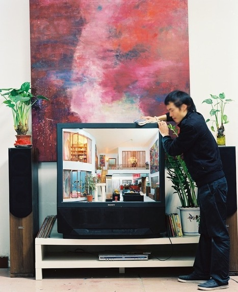 Intricately Sculpted Rooms Built Inside Old TV Sets - My Modern Metropolis   Le It e Amo ✪   Scoop.it