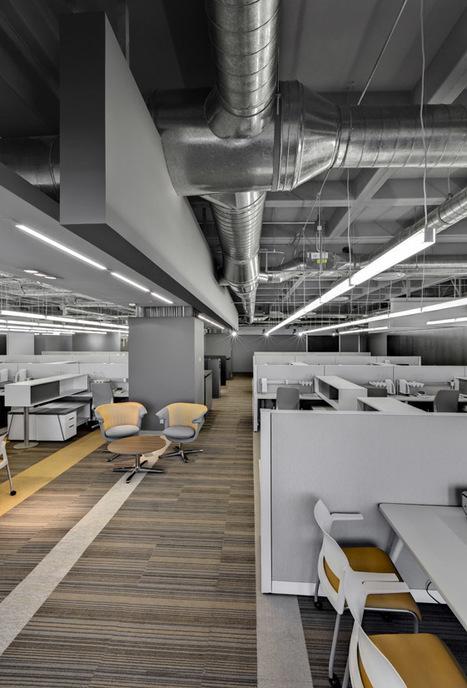 Interiorismo oficinas de Accesolab por usoarqui...