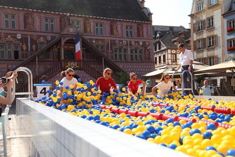 Plongez dans le grand bain... à balles d'Ikea ! | streetmarketing | Scoop.it
