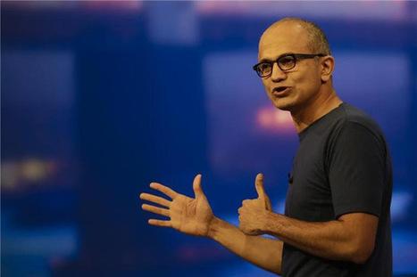 Pour Satya Nadella (Microsoft), l'IA doit aider les humains, non se substituer à des emplois | Vous avez dit Innovation ? | Scoop.it