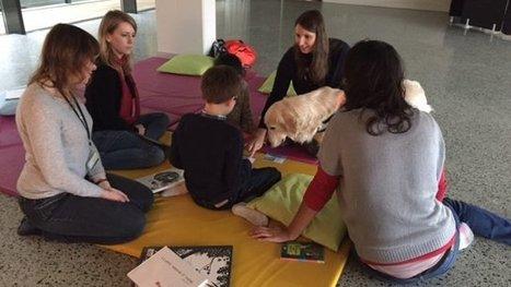 À Illkirch-Graffenstaden, un chien aide les enfants à lire - France 3 Alsace | Bibliothèques et Cie | Scoop.it