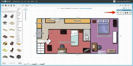 floorplanner logiciel gratuit de conception e. Black Bedroom Furniture Sets. Home Design Ideas