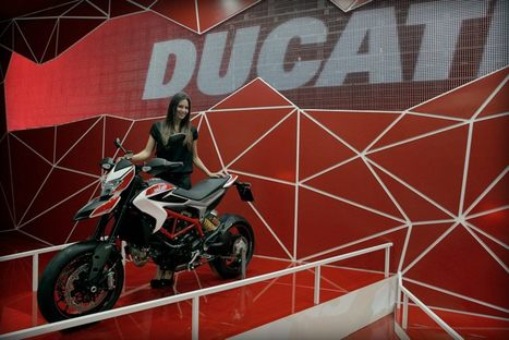 Ducati at EICMA 2012 | Images from the show | Ducati's Facebook page | Ductalk Ducati News | Scoop.it