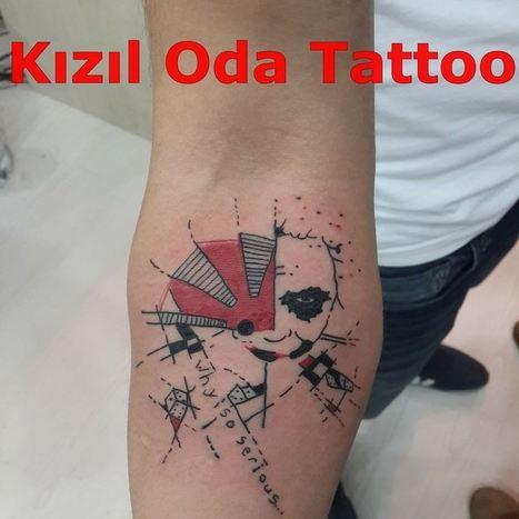 Joker Dovme Modelleri In Tattoo Scoop It