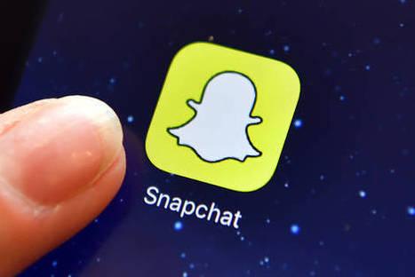 As Snapchat Pushes Into France, U.S. Media Companies Tag Along   Social Media Bits & Bobs   Scoop.it