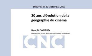 20 ans d'évolution de la géographie du cinéma | Veille Hadopi | Scoop.it